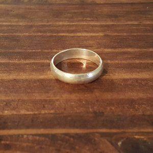 VTG 925 SS Band Ring Size 6